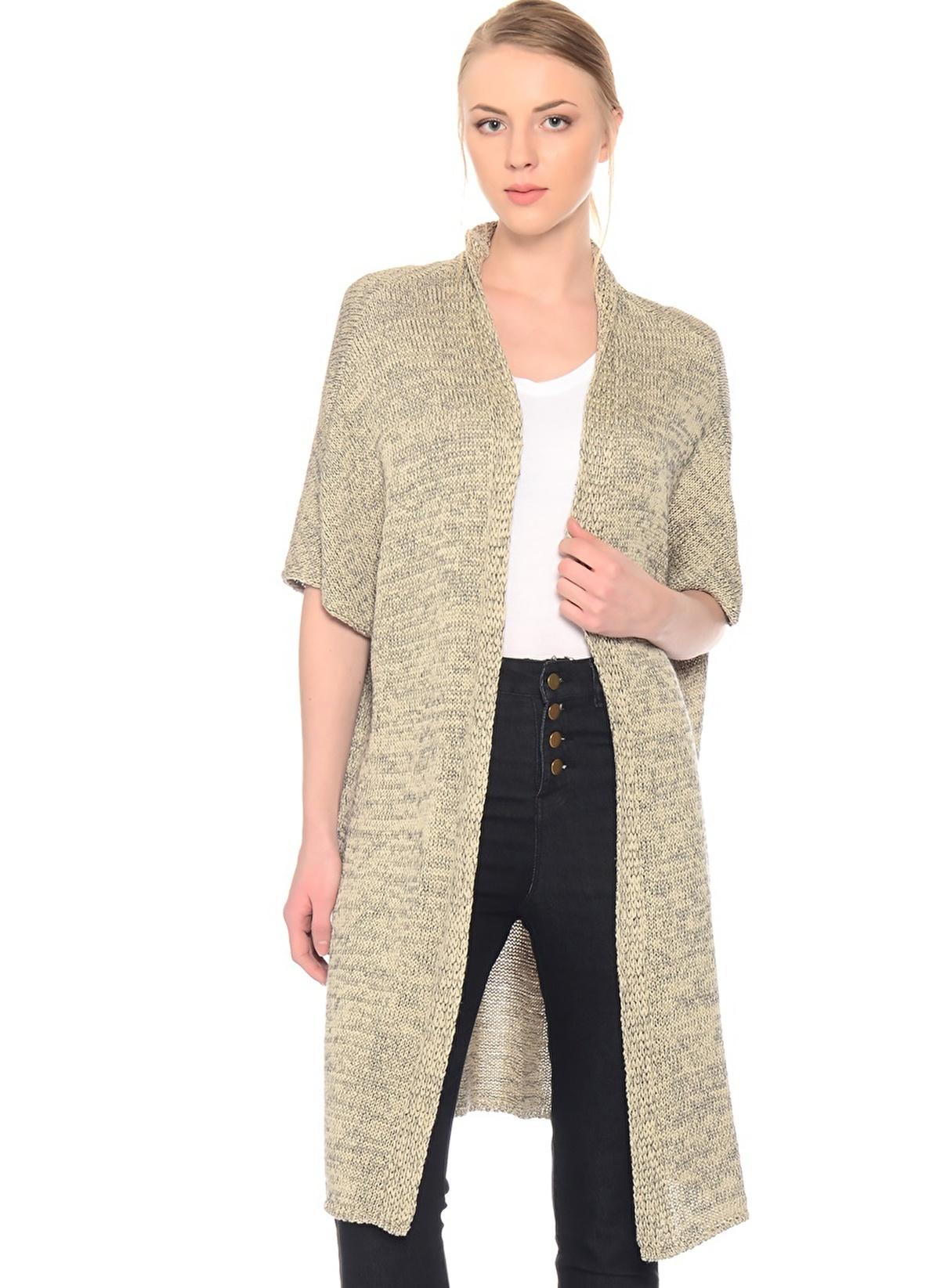 Fridays Project Hırka 13691 Long Cardigan Kimono Sle – 59.99 TL